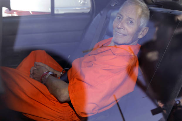 Durst pleads guilty to gun charges, sets up L.A. murder trial