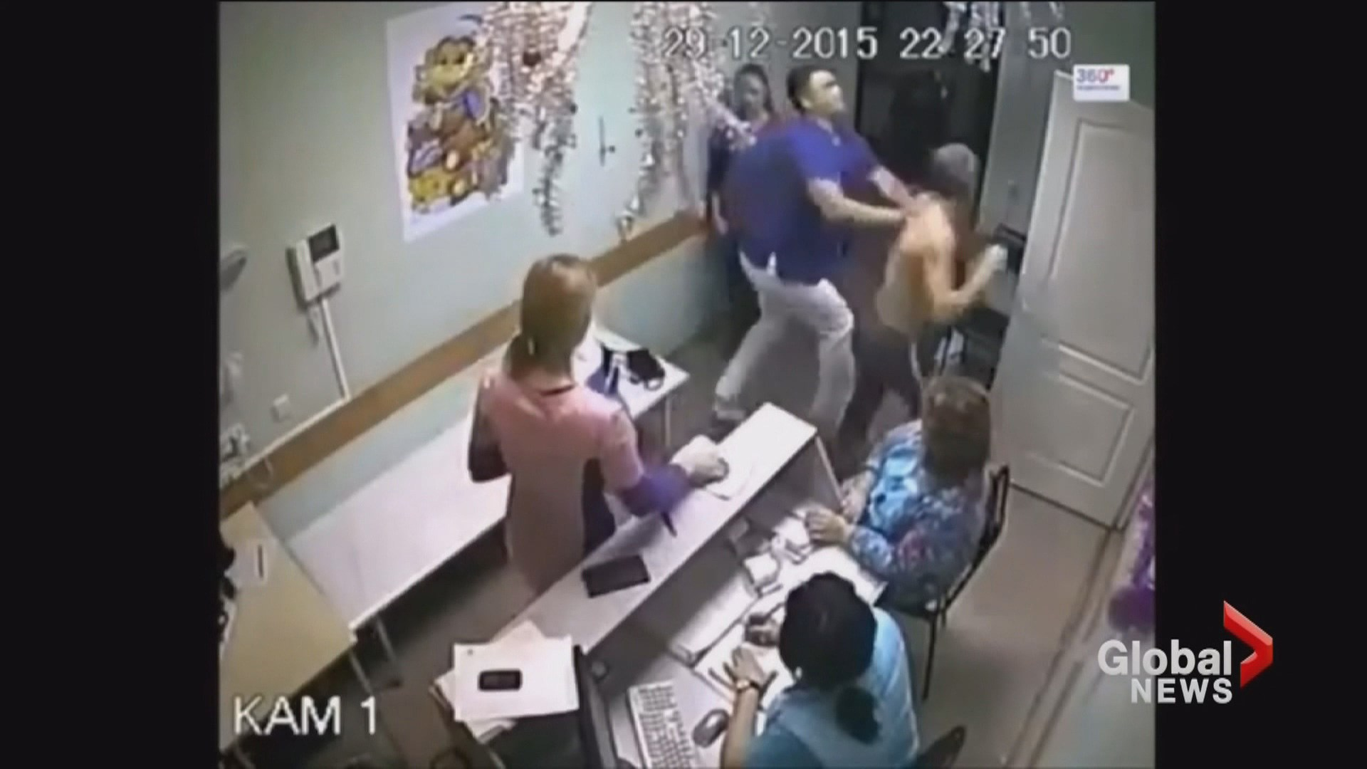 Russian Doctor Accused Of Punching Patient To Death