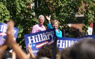 Hillary Clinton's Spouse Hits Campaign Trail to Offer Personal View of Candidate