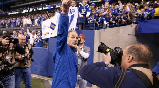 Indy players pack up, still uncertain about Pagano's status